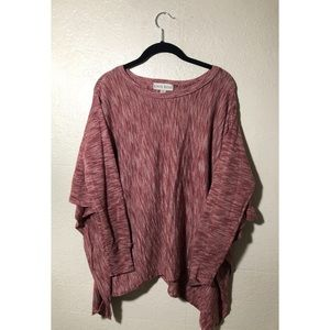 Poncho-like Bohemian Sweater